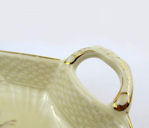 Paterka w kształcie liścia Royal Copenhagen Dania handle