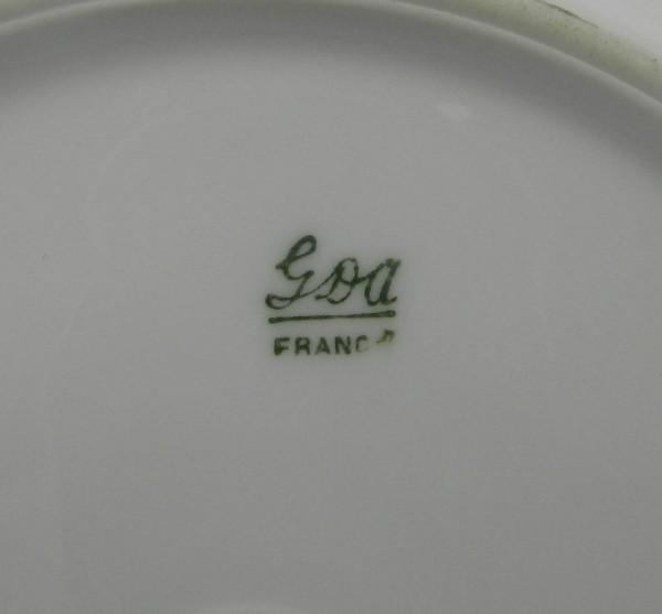 6 talerzyków deserowych Limoges mark
