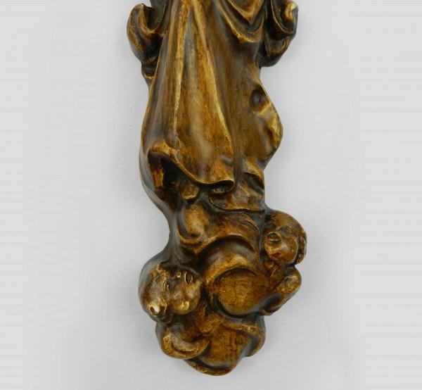 Ceramiczna plakieta naścienna Matka Boska legs
