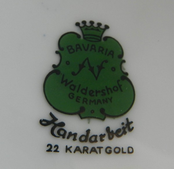 Duży wazon Waldershof mark