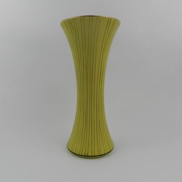 Ceramiczny wazon sygnowany front