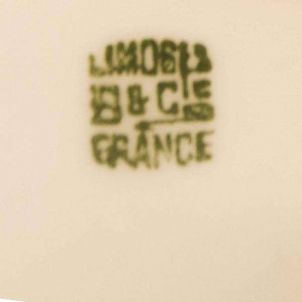 Dzbanek i cukiernica Limoges Balleroy mark