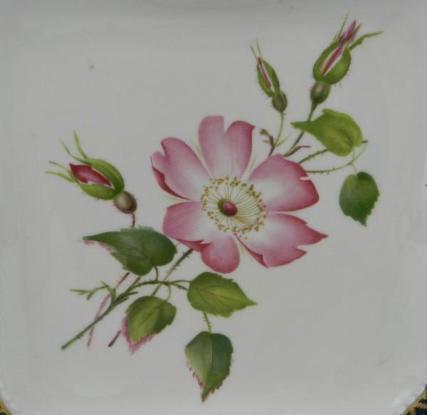 Ażurowa patera Schawarzenhammer flower