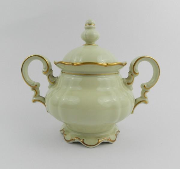 Serwis 10 osób Hutschenreuther Sylvia Ecru Gold sugar bowl
