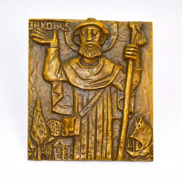 Plakieta z brązu St. Jakobus