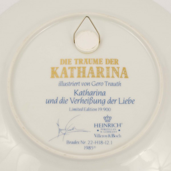 Talerz dekoracyjny Heinrich Villeroy&Boch Katharina mark
