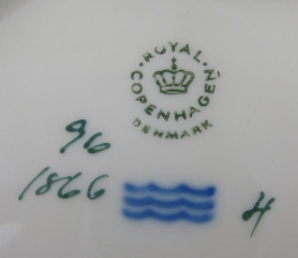 Paterka w kształcie liścia Royal Copenhagen Dania mark