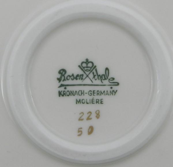 Patera dekoracyjna Rosenthal Moliere mark