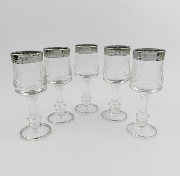 Kieliszki szklane do likieru