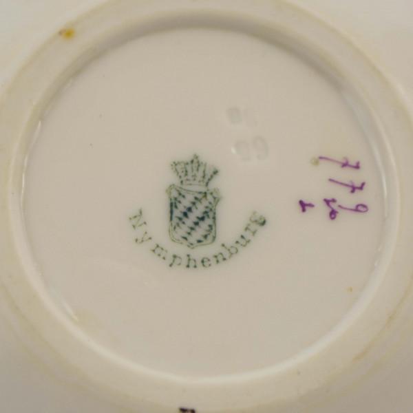 Filiżanka mokka Nymphenburg mark