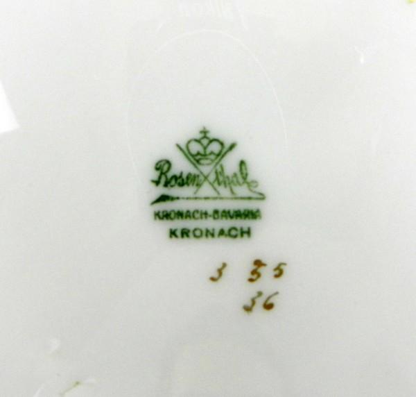 Bardzo duża patera Rosenthal Kronach mark