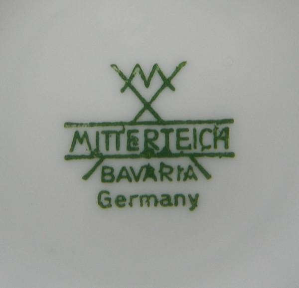 Filiżanka Mitterteich sygnatura