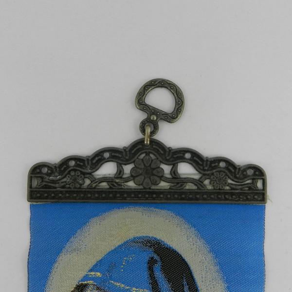 Makatka z wizerunkiem Matki Boskiej zawieszka