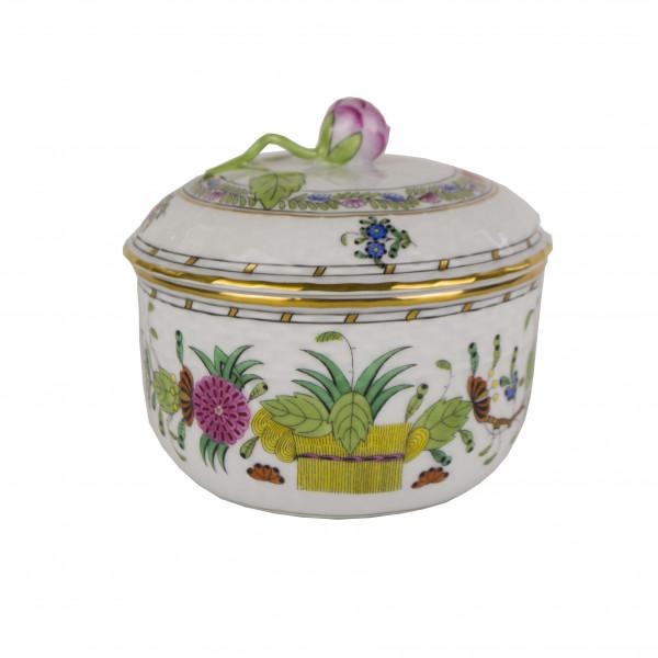 Serwis Herend Indian Basket sugar bowl