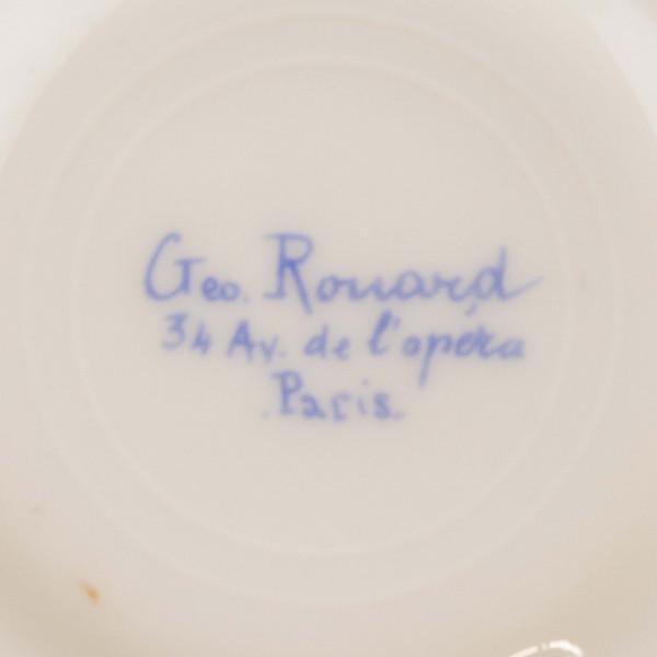 Filiżanka mokka Geo Rouard Paris mark