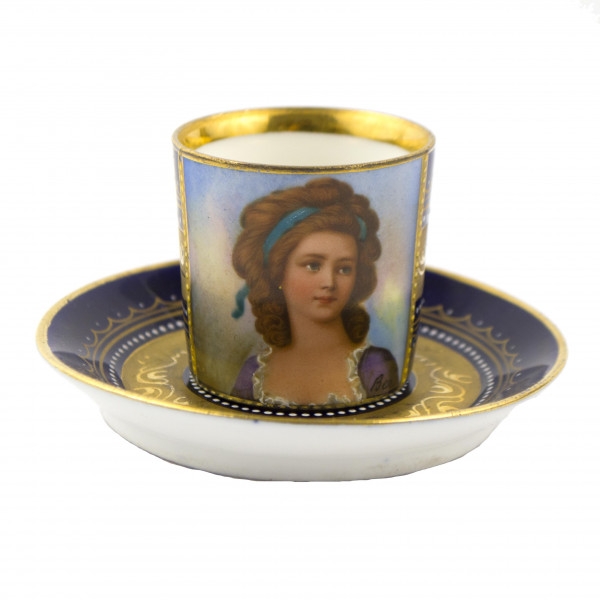 Filiżanka mokka Grafin Potocka Royal Vienna cup