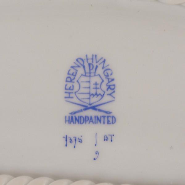 Ażurowa patera Herend mark