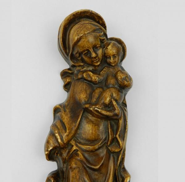 Ceramiczna plakieta naścienna Matka Boska head
