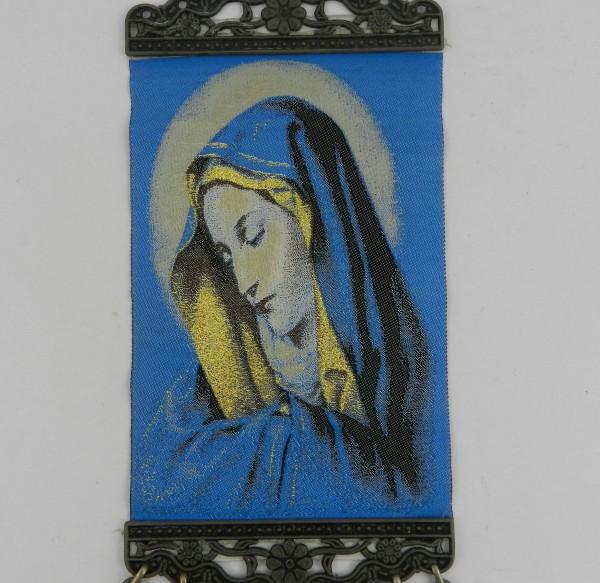 Makatka z wizerunkiem Matki Boskiej obrazek