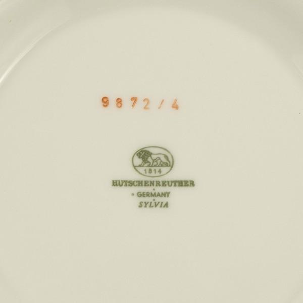 Waza Hutschenreuther Sylvia Platinum mark