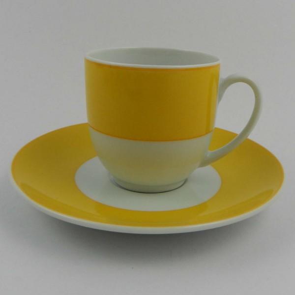 Zestaw filiżanek Guy Degrenne Francja cup yellow