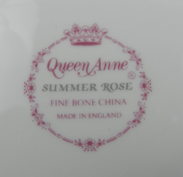 Patera Queen Anne Summer Rose mark
