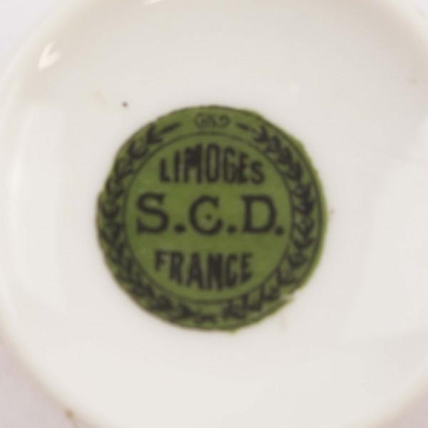 Filiżanka mokka S.C.D. Limoges mark