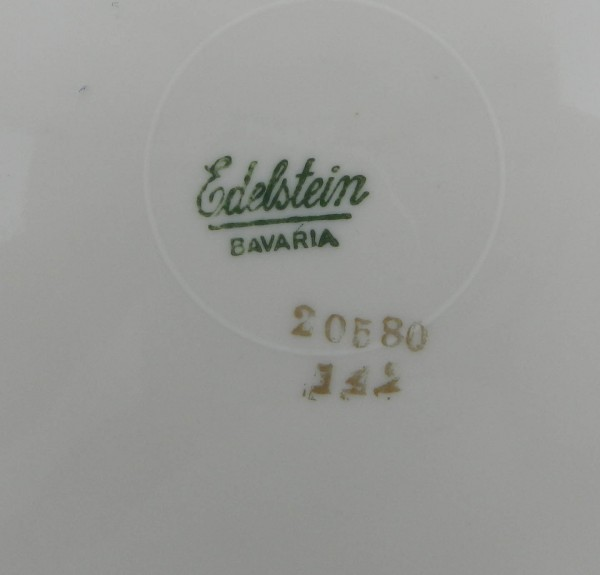 7 talerzy deserowych Edelstein mark