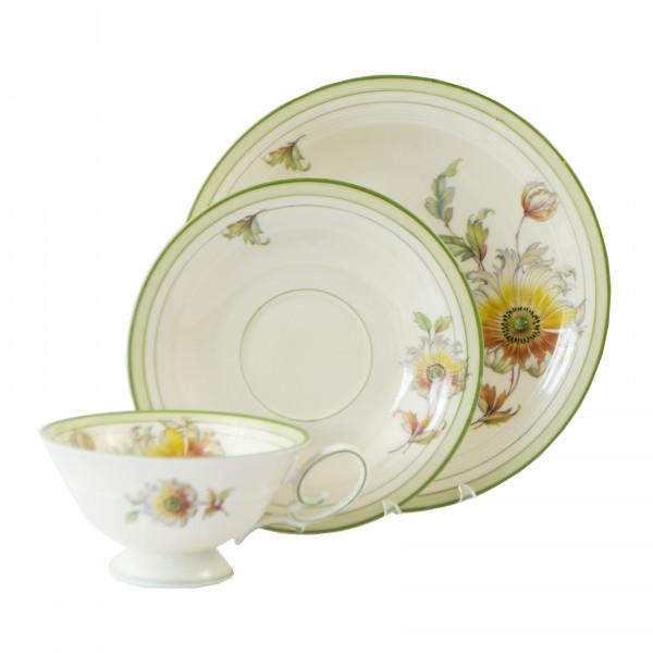 Porcelanowa filiżanka śniadaniowa Tirschenreuth front