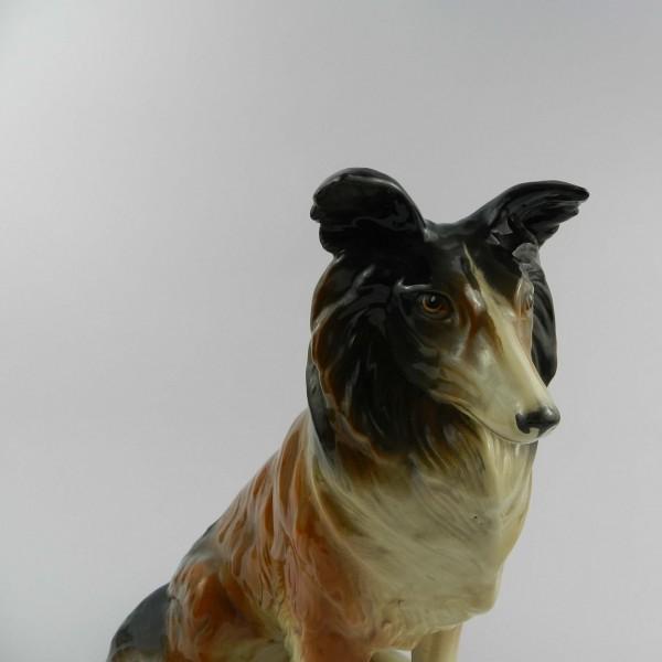 Ceramiczna figurka psa head