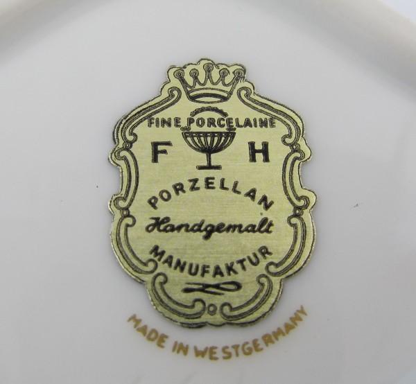 Puzdro FH Porzellan sygnatura