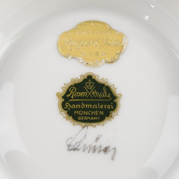 Patera na stopie Rosenthal Munchen mark
