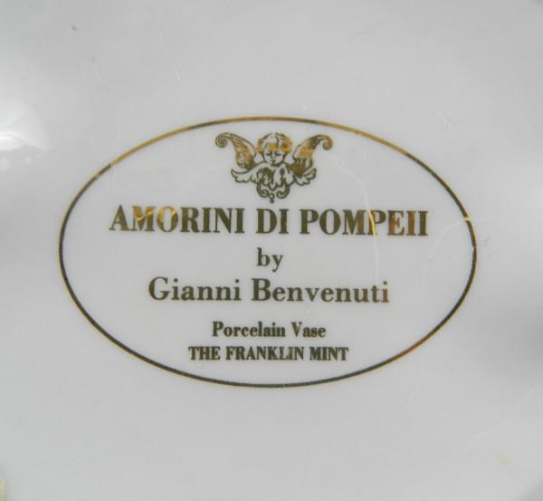 Wazon figuralny Gianni Benvenuti Franklin Mint mark