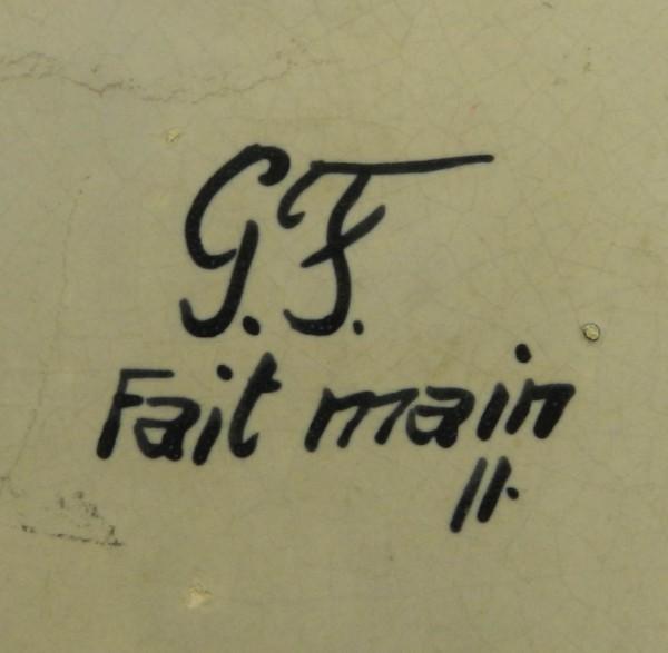 Ceramiczny pojemnik z uchwytem Gabriel Fourmaintraux mark