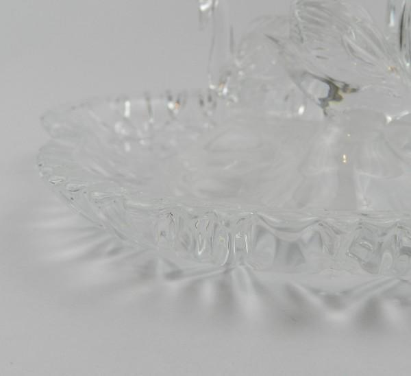 Paterka szklana łabędzie close