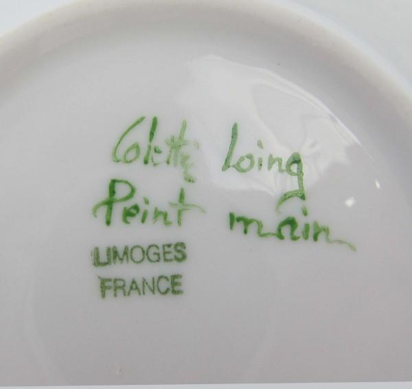 Filiżanka Limoges sygnatura