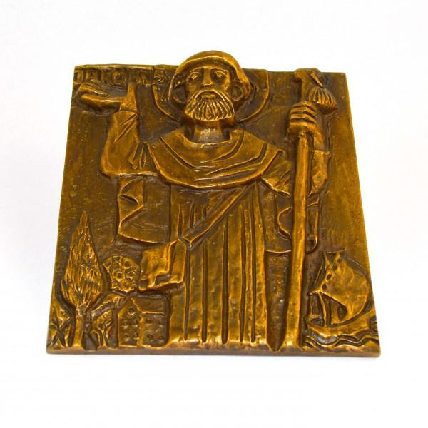 Plakieta z brązu St. Jakobus 2