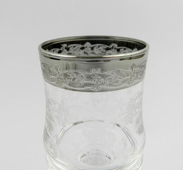 Kieliszki szklane do likieru zdobienie
