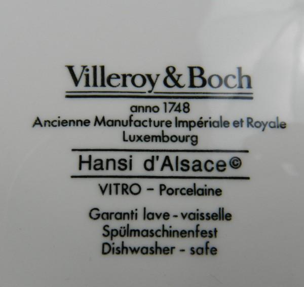Patera Villeroy&Boch Hansi d'Alsace mark