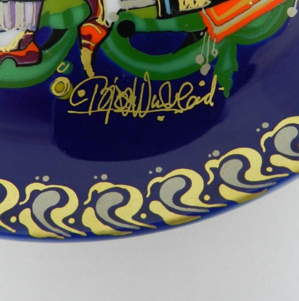 Talerzyk dekoracyjny Rosenthal Bjorn Windblad sign