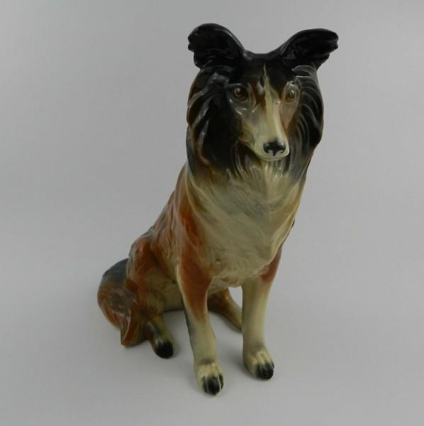 Ceramiczna figurka psa
