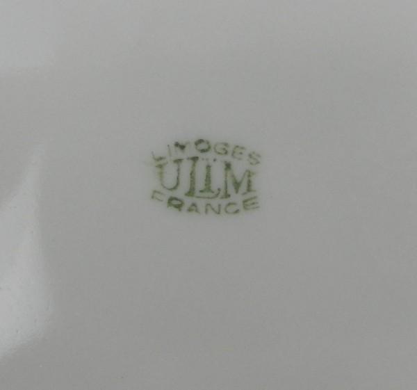 Talerz dekoracyjny Limoges ULIM mark
